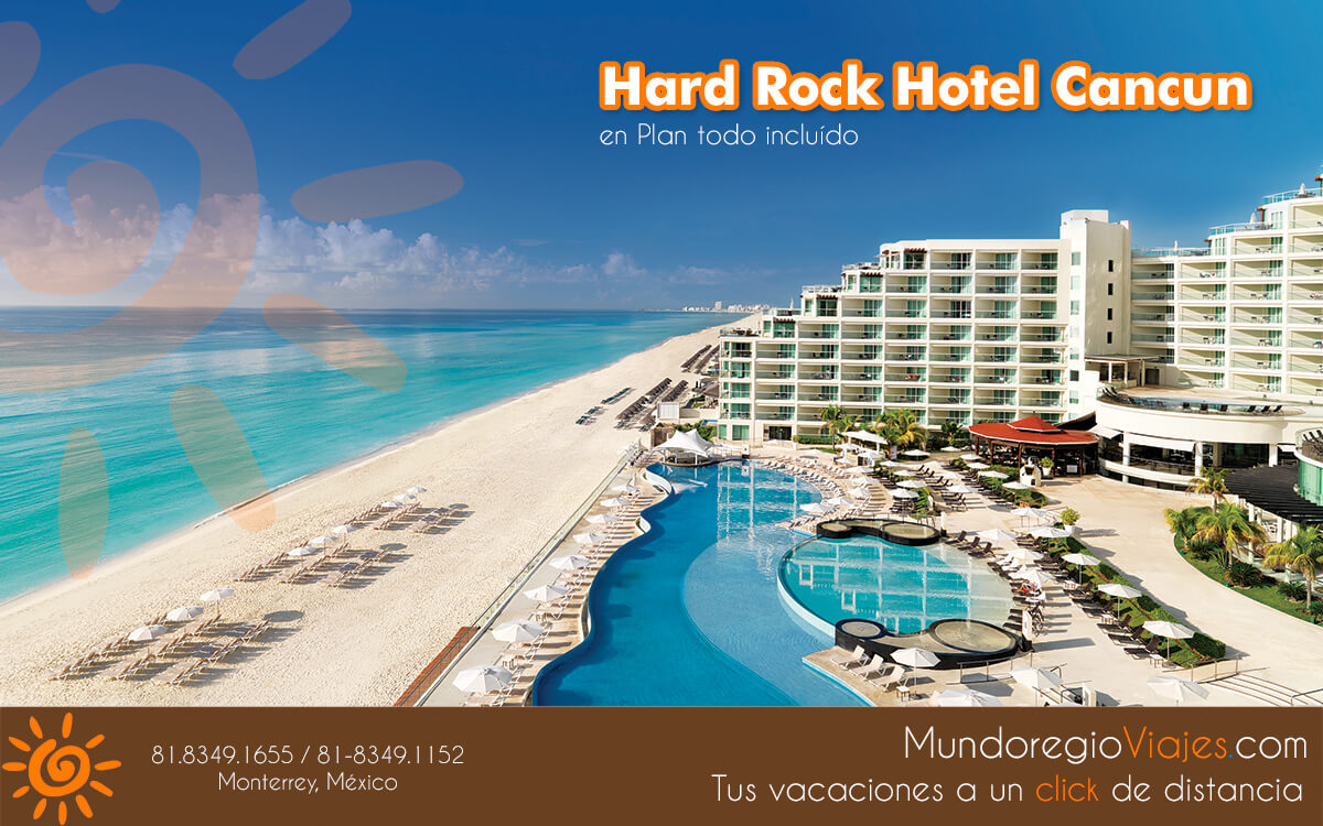 Paquetes en el Hard Rock hotel en Cancun