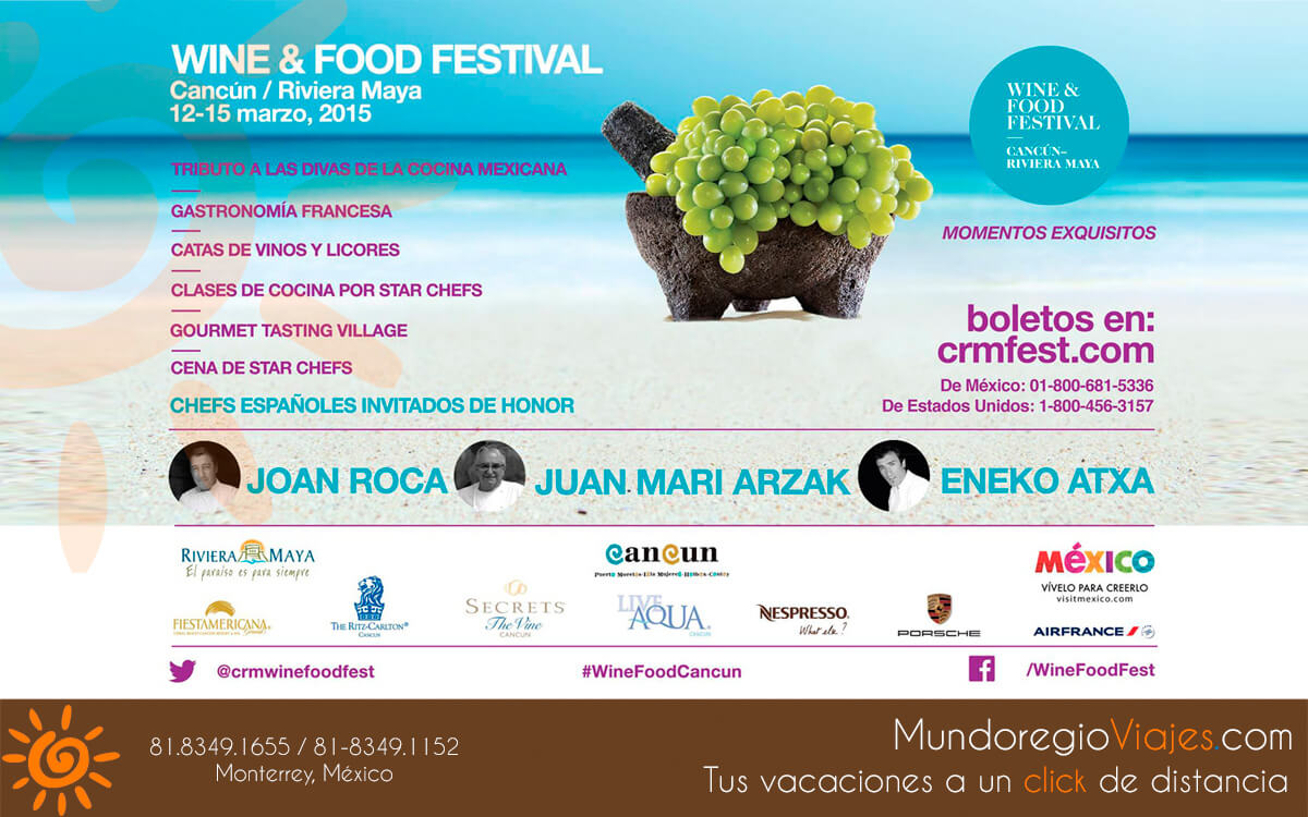Cancun Wine and Food festival